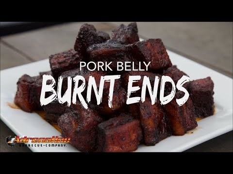 Pork Belly Burnt Ends – Smoked Pork Belly Recipe on the BBQ