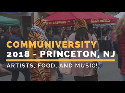 Communiveristy 2018 Outdoor Arts Festival in Princeton, New Jersey