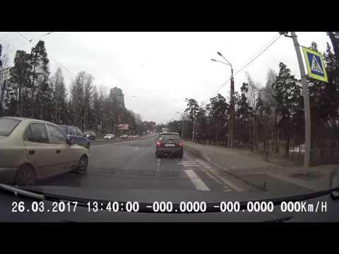 ДТП Энгельса на пешеходном переходе 26 03 2017