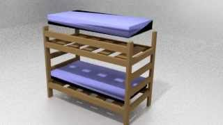 Bunkbed Construction Animation