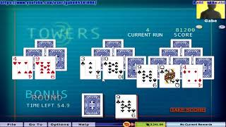 Hoyle Puzzle and Board Games 2009 - 3 Towers (Complete Gameplay)