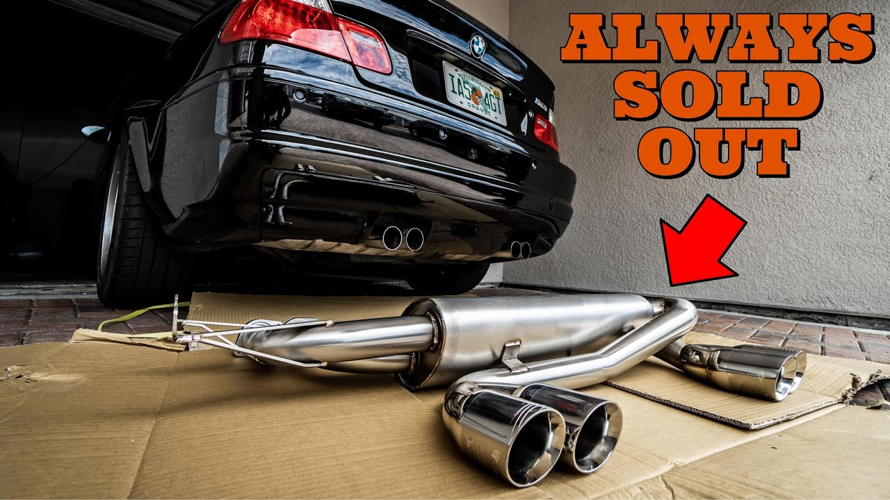 Installing The Best Sounding BMW E46 M3 Exhaust That You Cant' Have (Today)