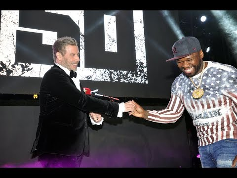 50 Cent & John Travolta Take Over Cannes Film Festival (Full Video)