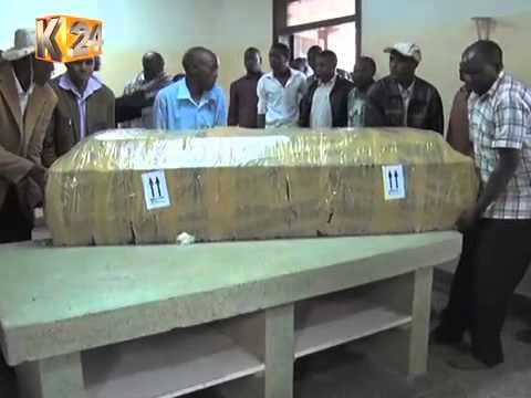 The Body Of ICC Witness Meshack Yebei Finally Lands In Eldoret
