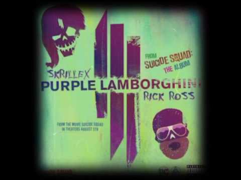 Skrillex Rick Ross Purple Lamborghini Vip Exclusive Youtube