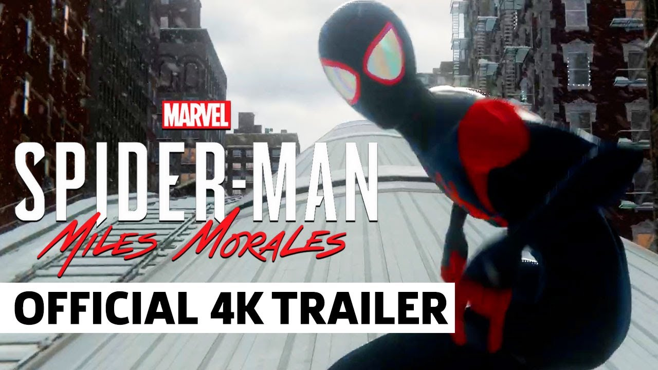 Marvel's Spider-Man Miles Morales – Into the Spider-Verse Suit Reveal Trailer