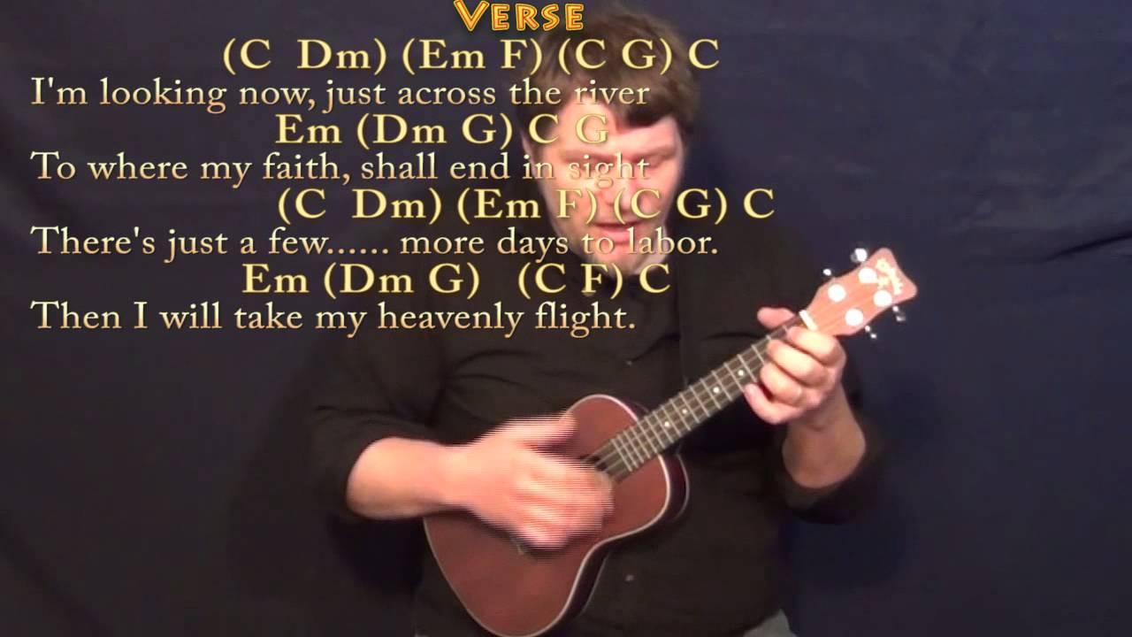Beulah Land Ukulele Cover Lesson In C With Chordslyrics Youtube