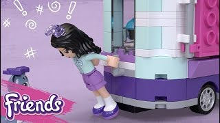 Emma's Art Stand 41332 - LEGO Friends - Product Animation