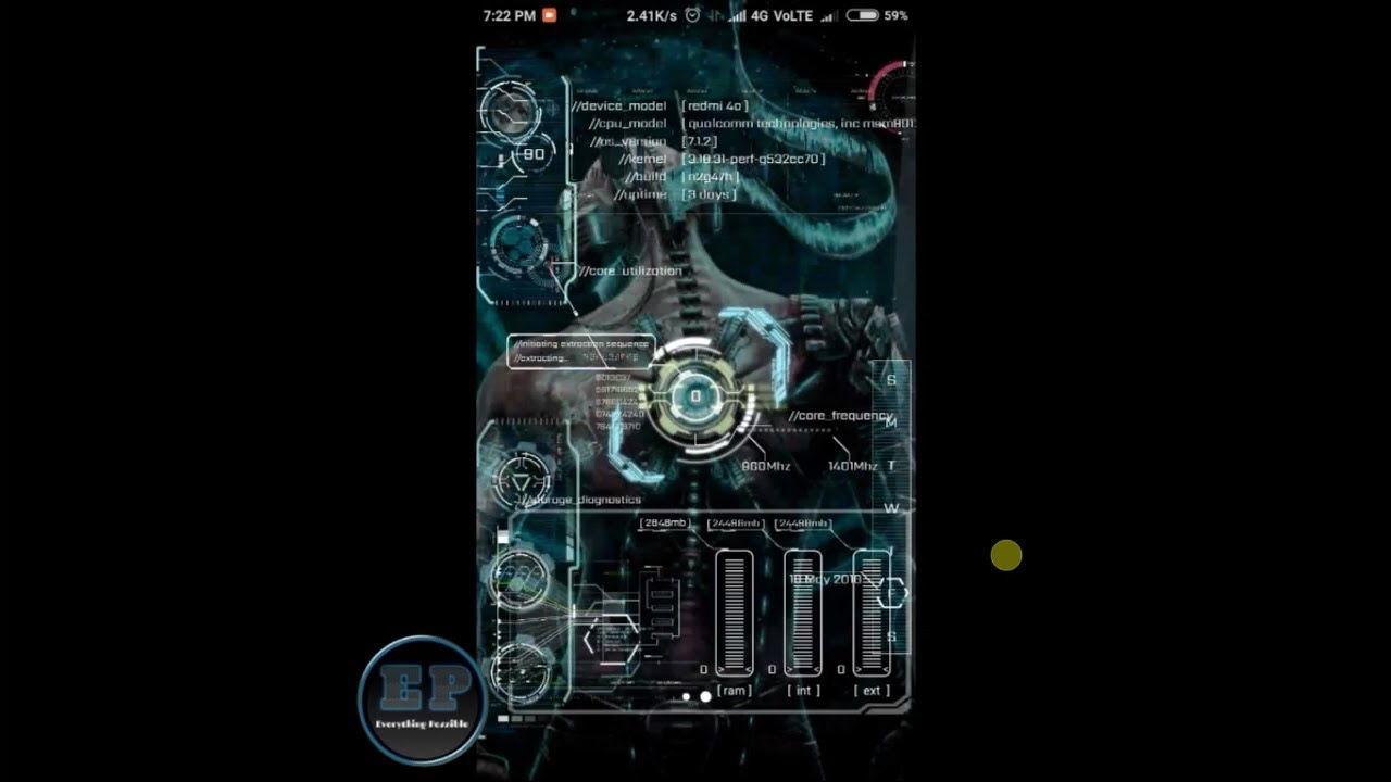 How to make Attractive Jarvis With Extraction UI Hindi
