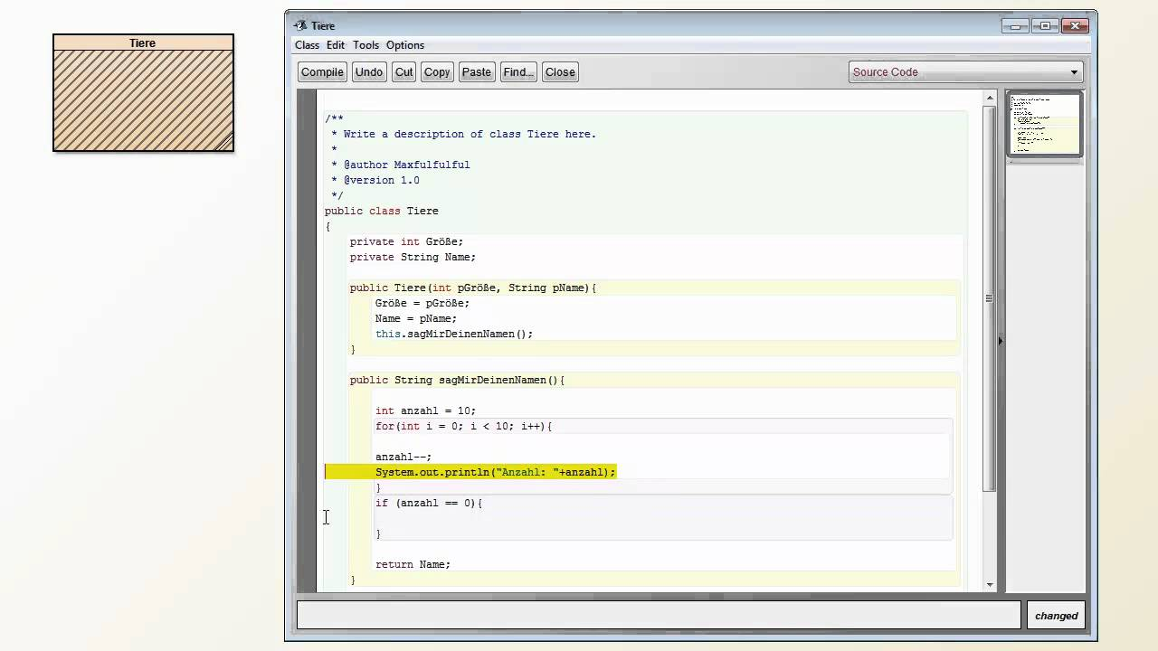 Java bluej tutorial image collections any tutorial examples bluej java tutorial image collections any tutorial examples java tutorial deutsch bluej hd part 2 youtube baditri Images