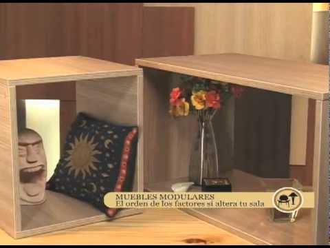 Cmo hacer muebles modulares  YouTube