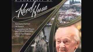 "KAREL HUSA: ""Al Fresco"" for Wind Ensemble (1975)"
