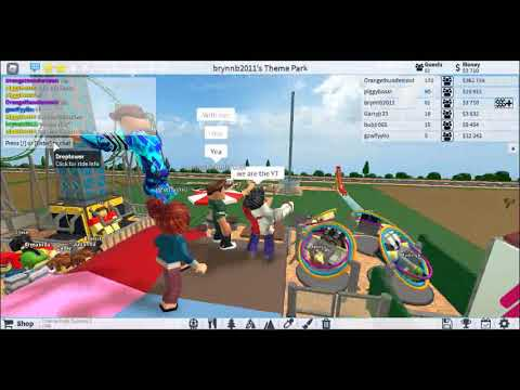 Theme Park Tycoon 2 (testing Out Little And Big YT Roller Coasters)