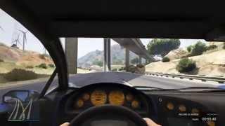 Grand Theft Auto V PS4 course sympas en première pers