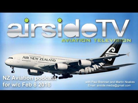 NZ Aviation Podcast w/c Feb 8 2016