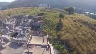 Tel Yokneam Aerial View 1 (BibleWalks.com)