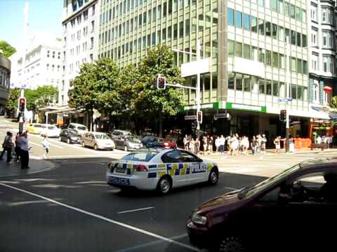 New Zealand Police - Queen Street - Auckland City