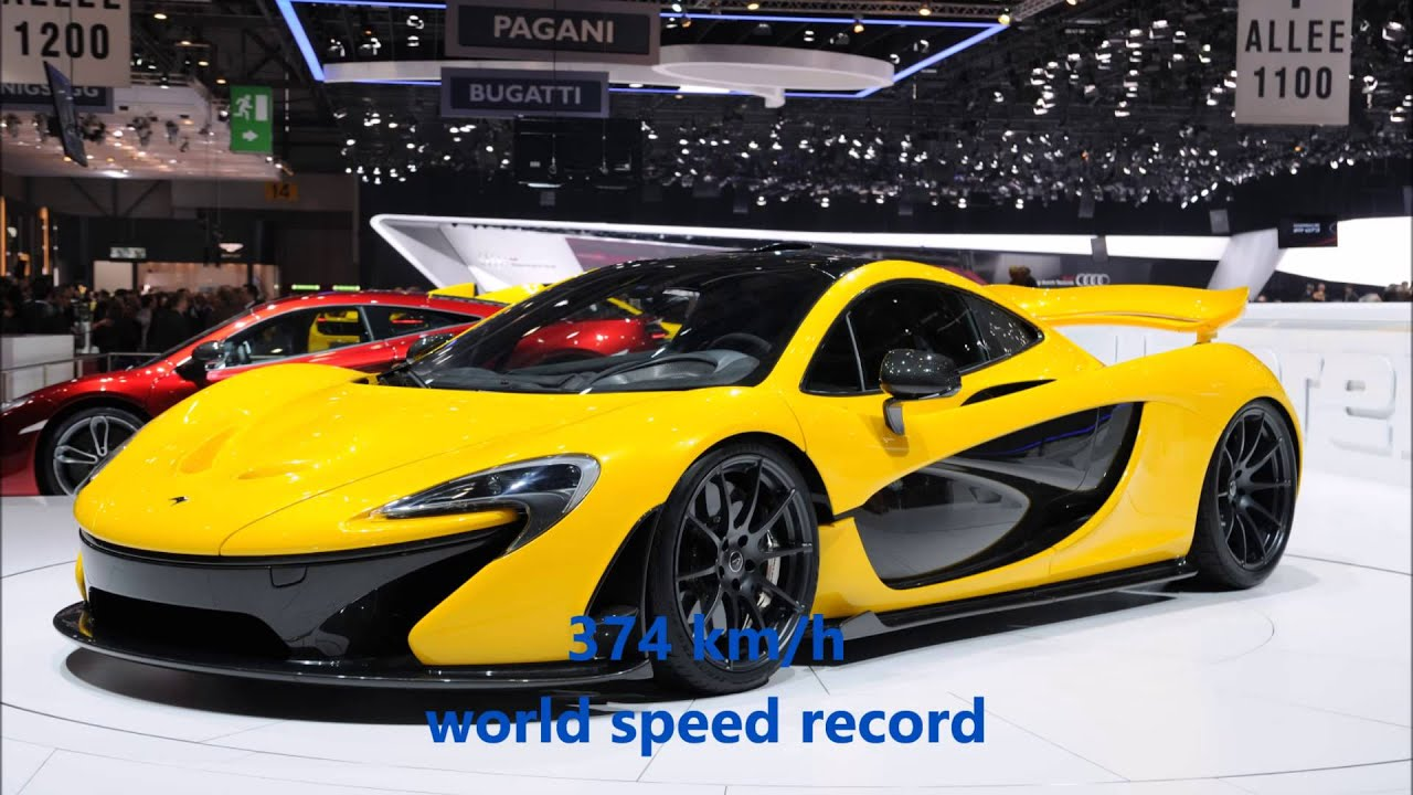 Zenvo st1 world speed record 2015 - YouTube