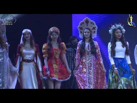 MISS SNG 2017 выход национальные костюмы Exit National Costumes