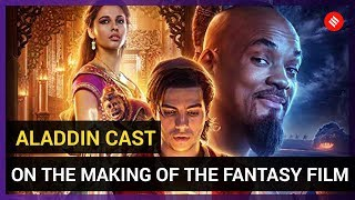 Aladdin Cast Interview: Cast Takes us Through the Making of the Fantasy Film