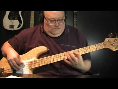 A Flock of Seagulls Messages Bass Cover with Notes & Tablature