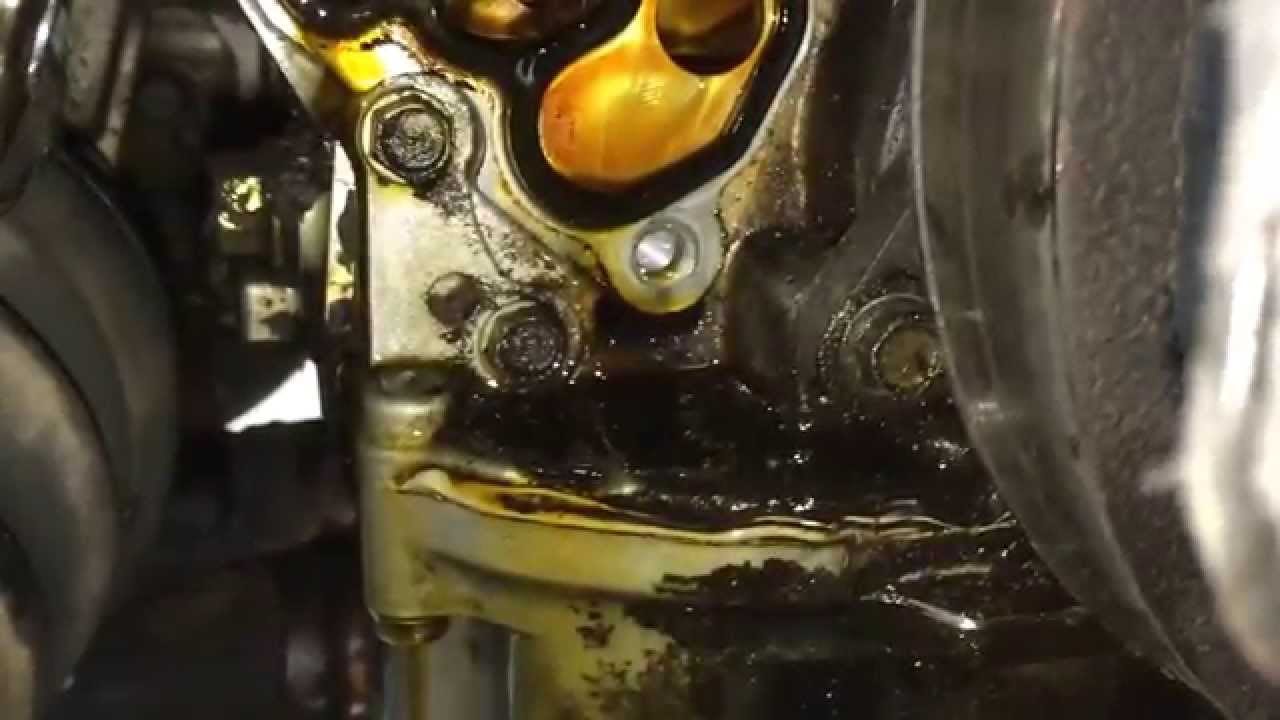 hight resolution of honda odyssey engine oil leak