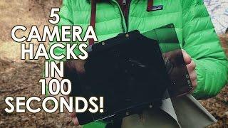 5 Photo Hacks to UP your PHOTOGRAPHY in 100 seconds!