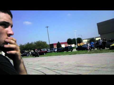 Stunting Omaha car show