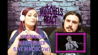 Lindemann - Allesfresser (Live in Moscow) First Time React / Review