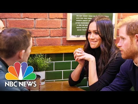 Meghan Markle Breaks With Royal Tradition On Visit To Charity Café | NBC News