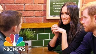 Meghan Markle Breaks With Royal Tradition On Visit To Charity Café   NBC News