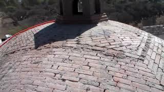 Construcción de bóveda catalana. Terminados superiores , transmisión en vivo parte 13