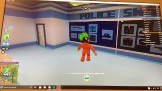 Ahh am going to jail... Roblox (peach lock gaming) episode 1