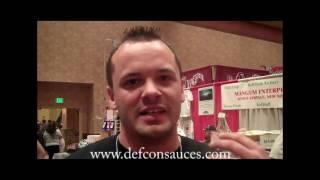 Hot Sauce Guru samples Defcon Zero