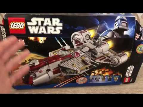 Lego Star Wars Republic Frigate 7964 Review (обзор на русском)