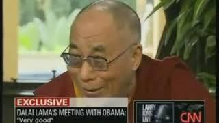 Далай-лама в гостях у Ларри Кинга