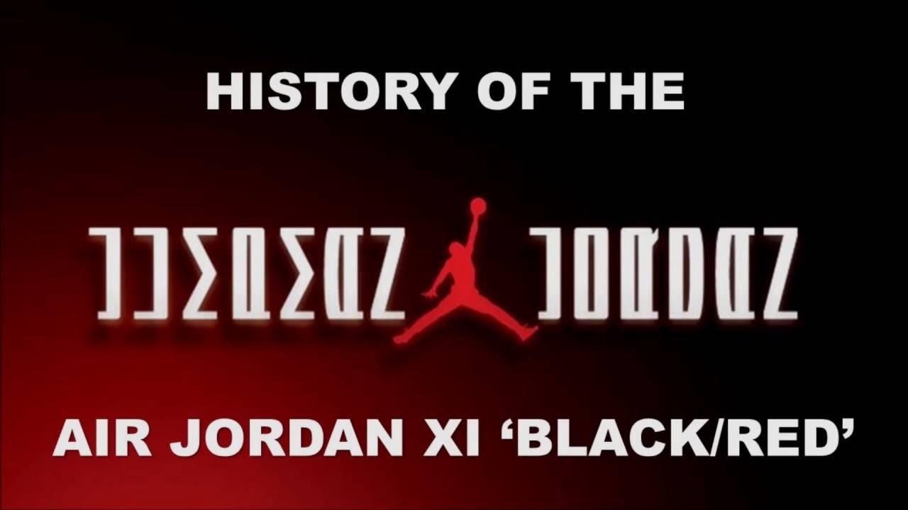AIR JORDAN 11 BLACK/RED AKA BRED