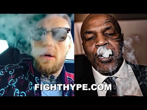 "CONOR MCGREGOR SAMPLED MIKE TYSON'S MARIJUANA ""KO KUSH"" AND APPROVES: ""AN HONOUR TO TASTE IT"""