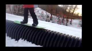 Afton alps rail jam