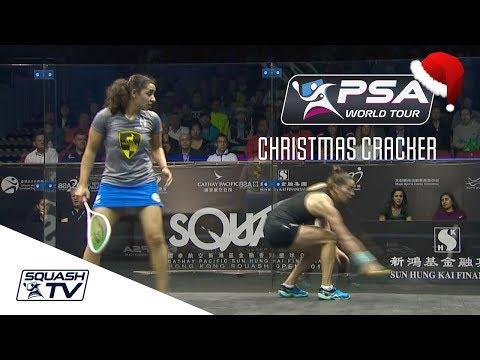 Squash: Christmas Cracker - El Welily v King - Hong Kong Open 2017 - Full Match