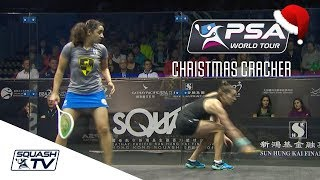 Squash: Christmas Cracker - El Welily v King - Hong Kong Open 2017 - Full Match