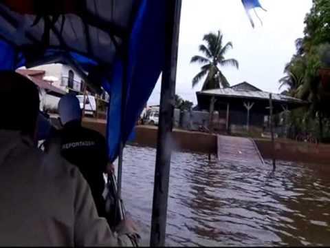 de Oiapoque indo para Guianas Francesa