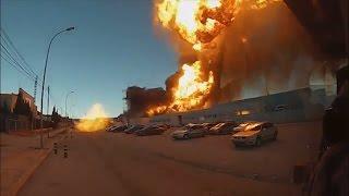 El incendio de Paterna está prácticamente extinguido