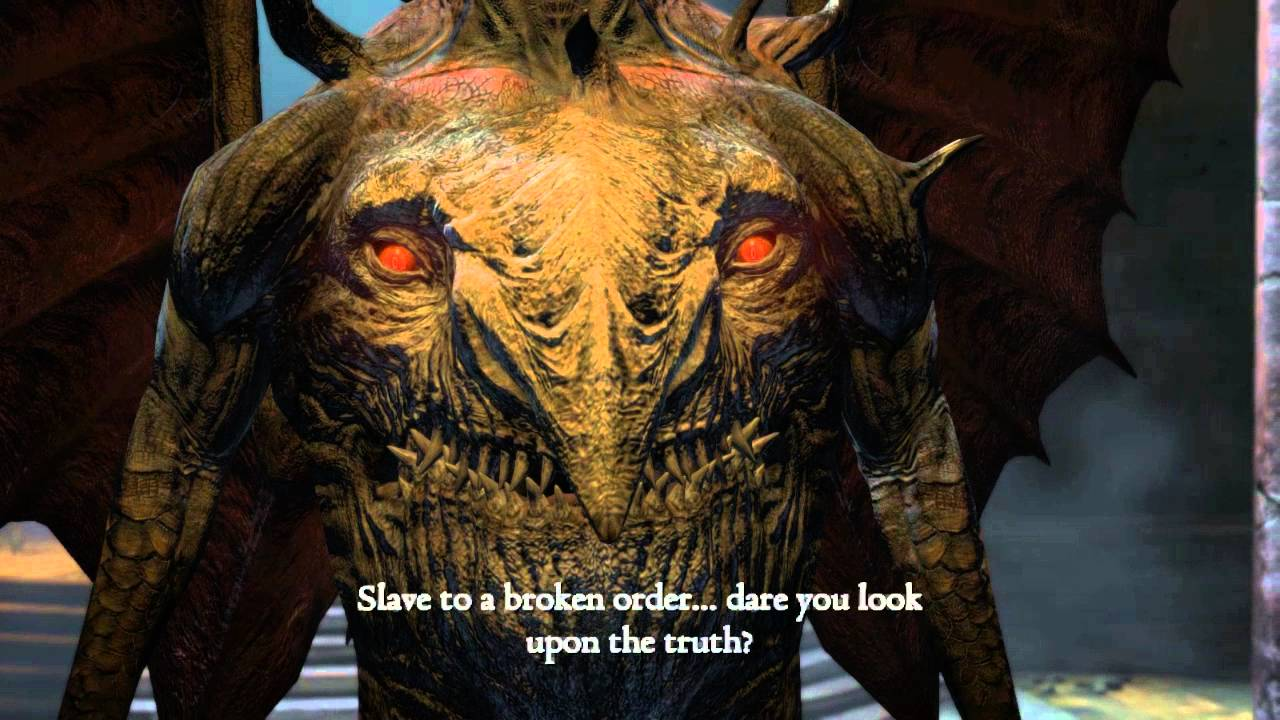 PC] Dragon's Dogma Dark Arisen - Daimon 2nd Form (Magick Archer ...