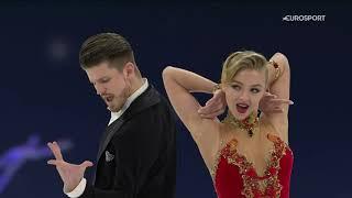 Александра Степанова/Иван Букин, ритм-танец на ЧМ-2021 по фигурному катанию