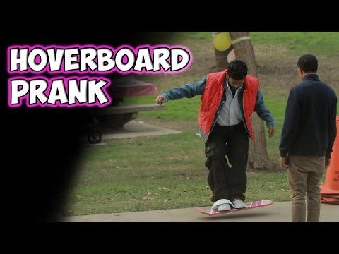 Hoverboard Prank