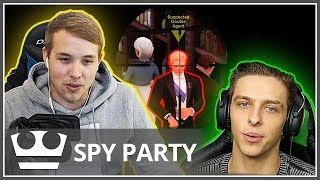 To nebyl Stephen Hawking?! SPY PARTY w/ MenT