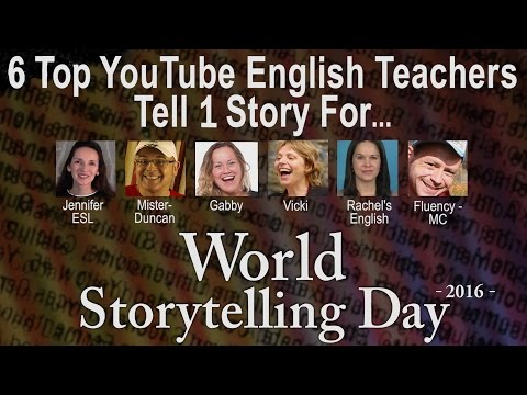 World Storytelling Day 2016: A fairy tale for English learners