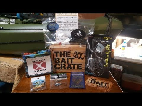 THE BAIT CRATE XL!!! JUNE 2018! Bass Unboxing!!