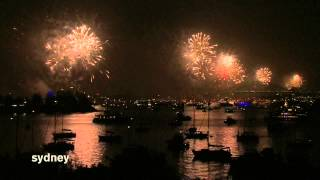 New Year Sydney 2015 Fireworks HD 1080p